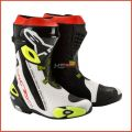 ALPINESTARS Boots Supertech R (black white yellow)