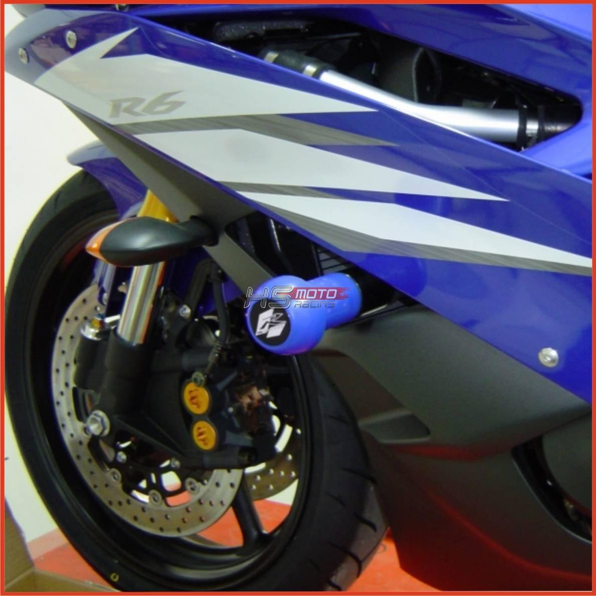 GSG-Moto Sturzpads Yamaha YZF-R6 RJ11 2006-2007 Crash Pads NEU