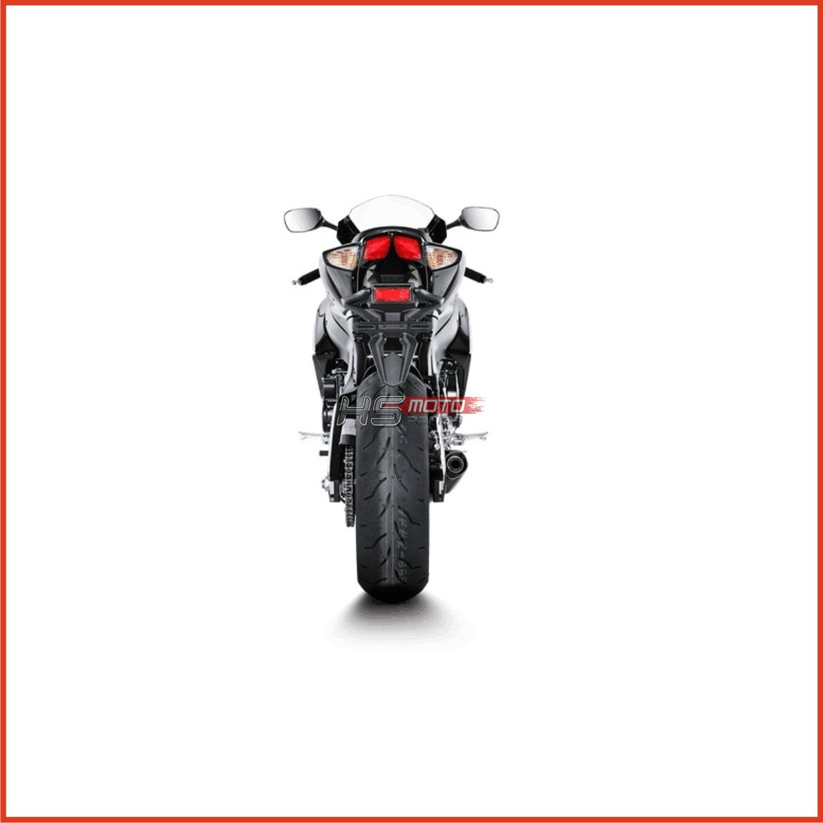 Akrapovič Exhaust system Racing Line Carbon Suzuki GSX-R 750 08-10