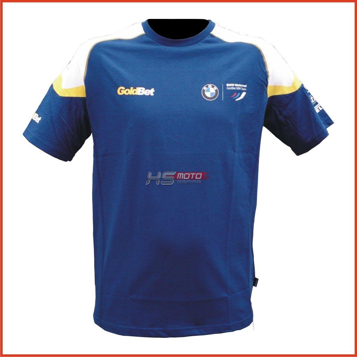 Bmw Motorsport Goldbet T Shirt Male