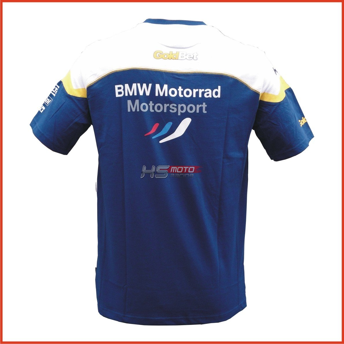 bmw motorsport goldbet t shirt male. Black Bedroom Furniture Sets. Home Design Ideas