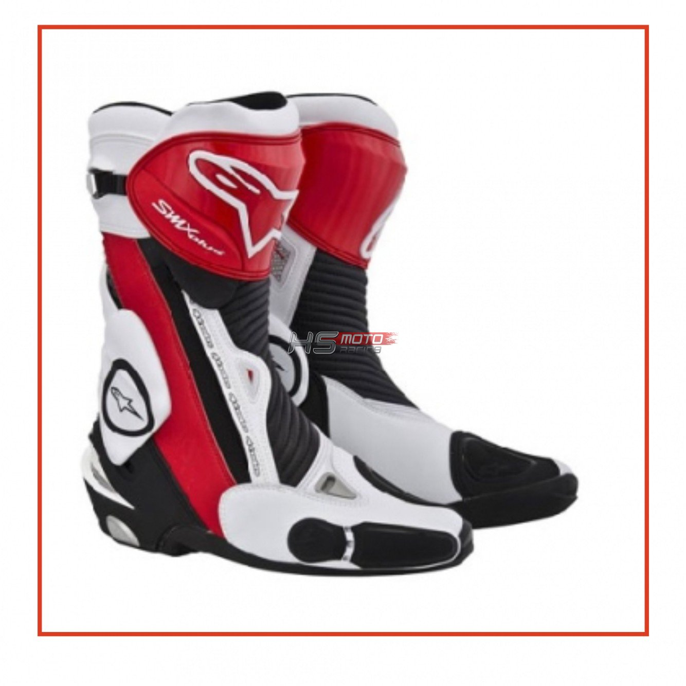 ALPINESTARS Čižmy S-MX Plus (čierno bielo červené) 7cecb3aab89